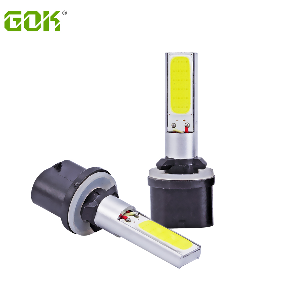 10X 880 led  COB LED H27 881 COB  Fog Lights Bulbs Super White t10 h1 h3 COB Fog Light Daytime Running Projector Bulb fog lamp виниловая пластинка чиж