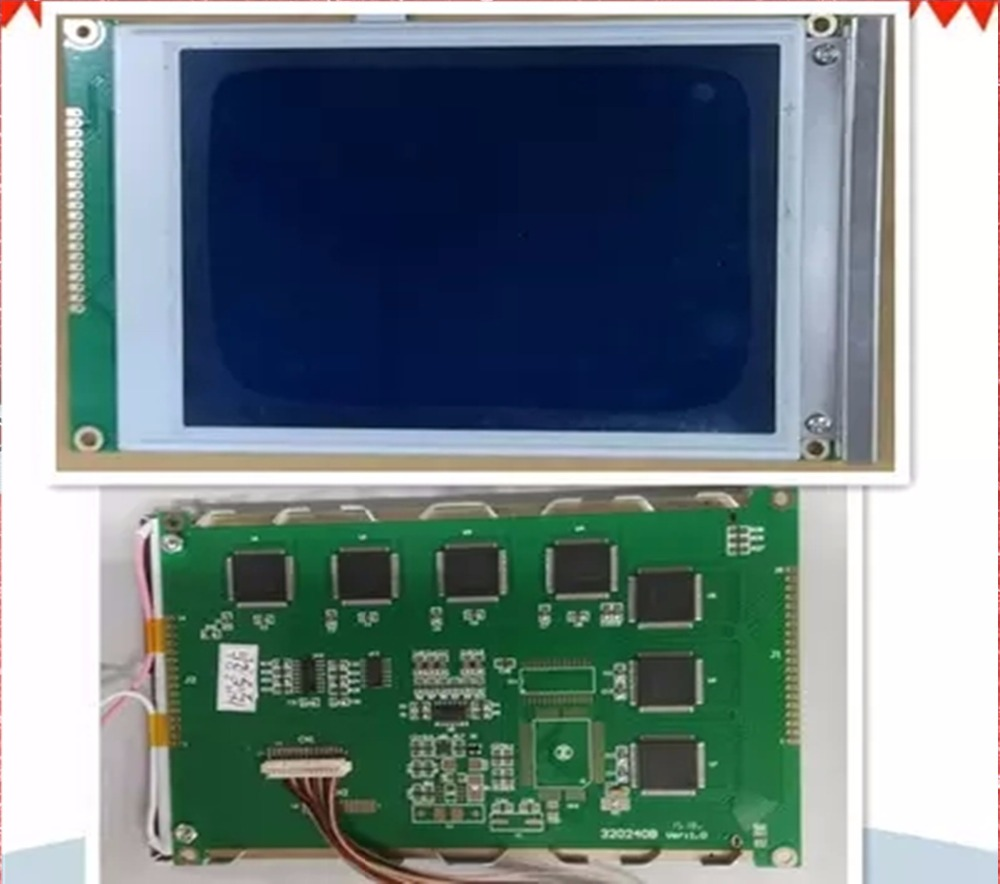 Free shipping brand new SP14Q005 320240 5.7'' monochrome LCD panel, display screen for machine ( compatible ) цена