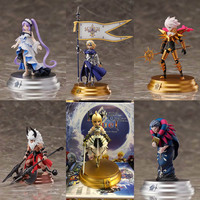 Fate Grand Order 6pcs/set Saber Jeanne D'Arc Euryale Gilles de Rais PVC Action Figure Toy Doll Gift