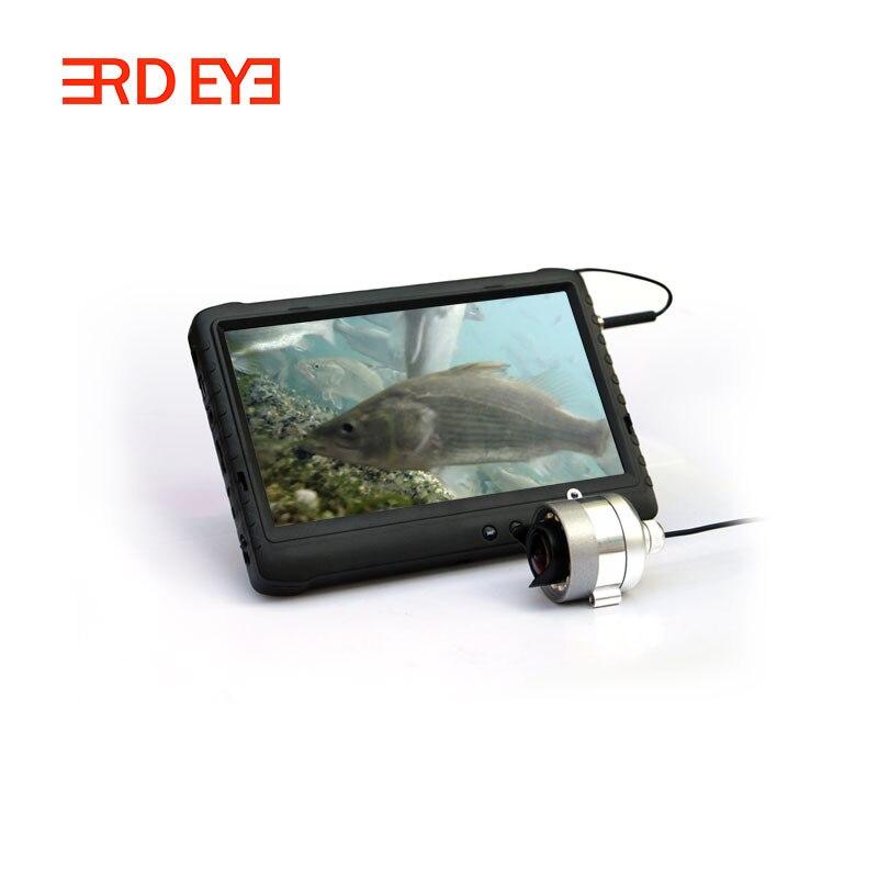 Tragbare 2.0MP Nachtsicht Unterwasser Angeln Kamera mit 12 stücke LED/IR lampe 7 ''TFT Display Monitor