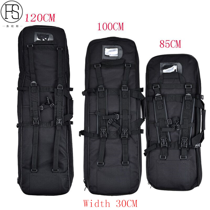 Good Tactical Equipment 81CM/94CM/118CM Military Hunting Backpack Airsoft Square Gun Bag Protection Case Rifle Backpack 85cm 100cm 120cm tactical hunting backpack dual rifle square carry bag with shoulder strap gun protection case backpack