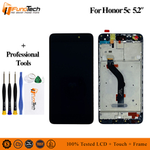 AAA LCD for Huawei Honor 5C 7Lite 7 Lite Display Touch Screen Digitizer For With Frame NEM-L21 NEM-L51