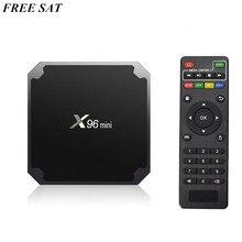 2GB /16GBAndroid 7.1 X96 mini Smart Set-top TV BOX S905W Quad Core Support 2.4G Wireless WIFI Set Top Box With IR Cabel