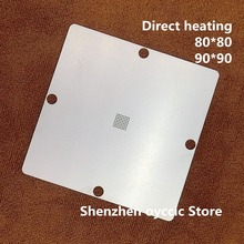 Direct heating 80*80 90*90 28F128J3C150 28F128J3A150 28F128J3D75 28F256J3C125 RC28F256J3C125  BGA64  BGA Stencil Template