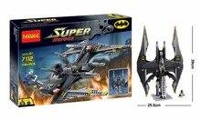 Decool 7112 DC Hero Batman Super Heroes Action Figure Bat Fighter Building Block Minifigure Toys Best Toys Compatible with Legoe