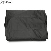 KiWarm Top Quality Polyester Outdoor Furniture Cover Water Resistant Dustproof Patio Garden Wicker Sofa Couch Cover
