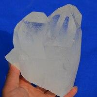 AAA Редкие высокое качество натуральный прозрачный кварц одного прекращено кристалл палочка ТОЧКА целебная, рейки, фэншуй украшения дома по