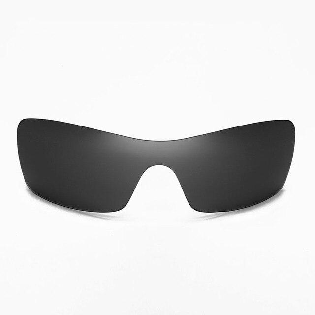 Walleva Non-Поляризованный Черный Замена Объективы для Oakley Batwolf Солнцезащитные Очки