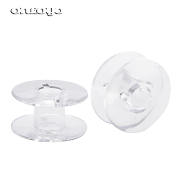 Household Sewing Plastic Bobbin SA156 15J Class 15 2518P Bobbin For Singer Brother Janome Toyota Sewing Bobbin image