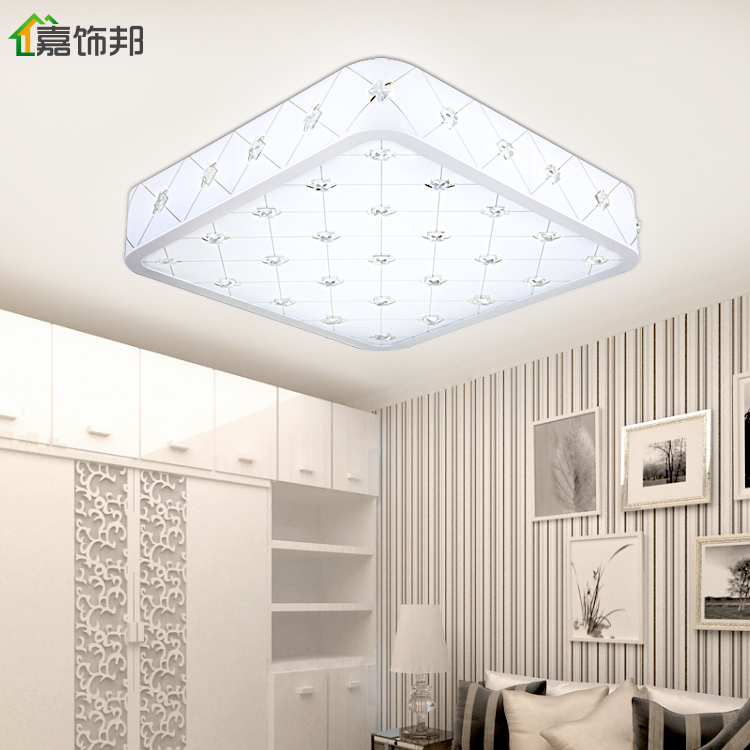 ... Jia Bang Crystal Ceiling Bedroom Decorated Living Room Lights Bedroom  Modern Minimalist Restaurant Lighting Fittings Led ...