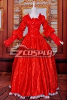Snow White Queen/Wedding Dress/Lolita Cosplay Costume E001