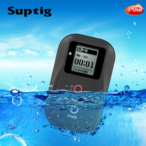 Image 5 - Suptig Waterproof WIFI Remote Control For Gopro Hero 6 Hero 5 4 3+ 3 / 4 Session 5 Session Camera For Gopro Hero8 7 Black Fusion