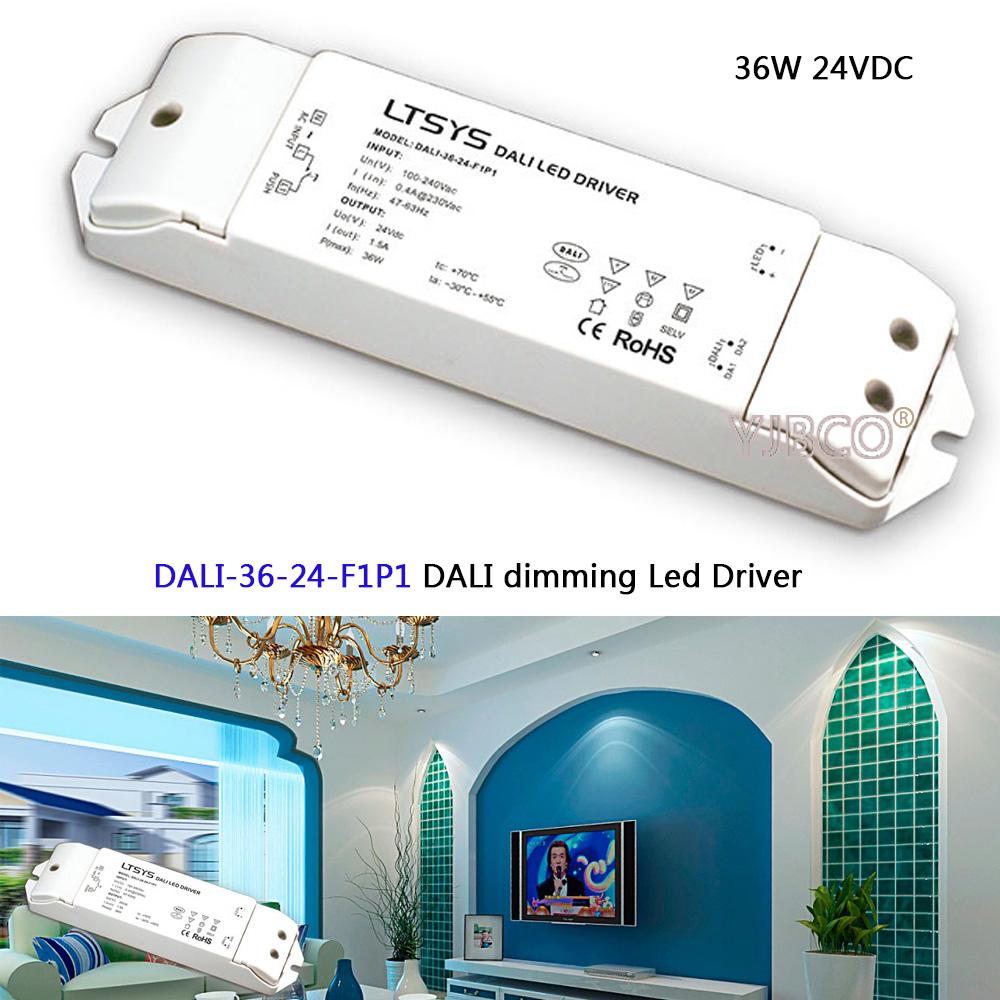 DALI 36 24 F1P1;CV DALI Led Dimming Driver,AC100 240V input;DC 24V ...