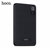 HOCO Portable External Battery Pack Fast Charge 30000mAh Mobile Power Bank Three USB Output Lithium Polymer