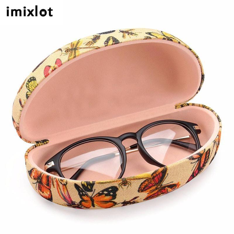 IMIXLOT 1 STÜCK Neue Design Leder Sonnenbrille Box Rahmen Gläser ...