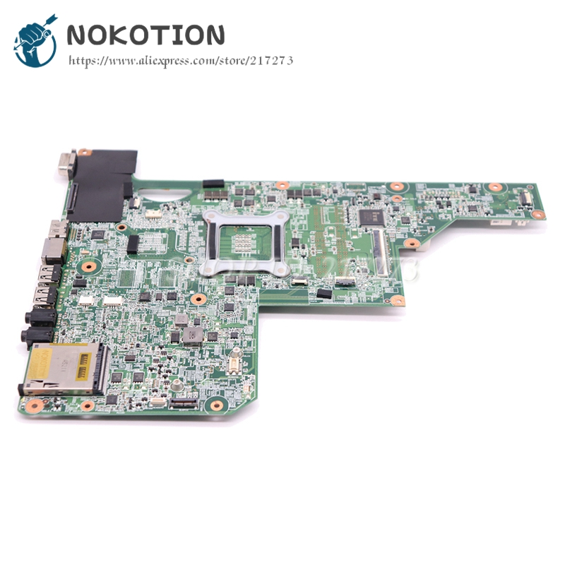 Image 2 - NOKOTION 615849 001 605903 001 Laptop Motherboard For HP G62 G72 CQ62 HM55 UMA DDR3 MAIN BOARD Free CPU-in Laptop Motherboard from Computer & Office on