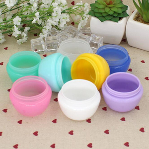 Image 3 - 5Pcs/Lot Mini Empty Jar Pots Cosmetic Makeup Inner Lid Face Cream Lip Balm Container My Refillable Bottles Wholesale