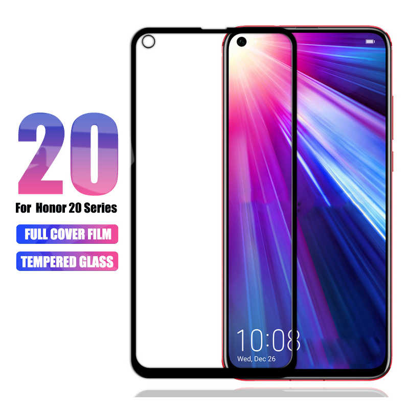 for Huawei Honor 20 Pro 20i 8x Tempered Glass On Huawei Honor 10 View 20 10i Screen Protector Honor 8x max Play 9 10 lite Film X