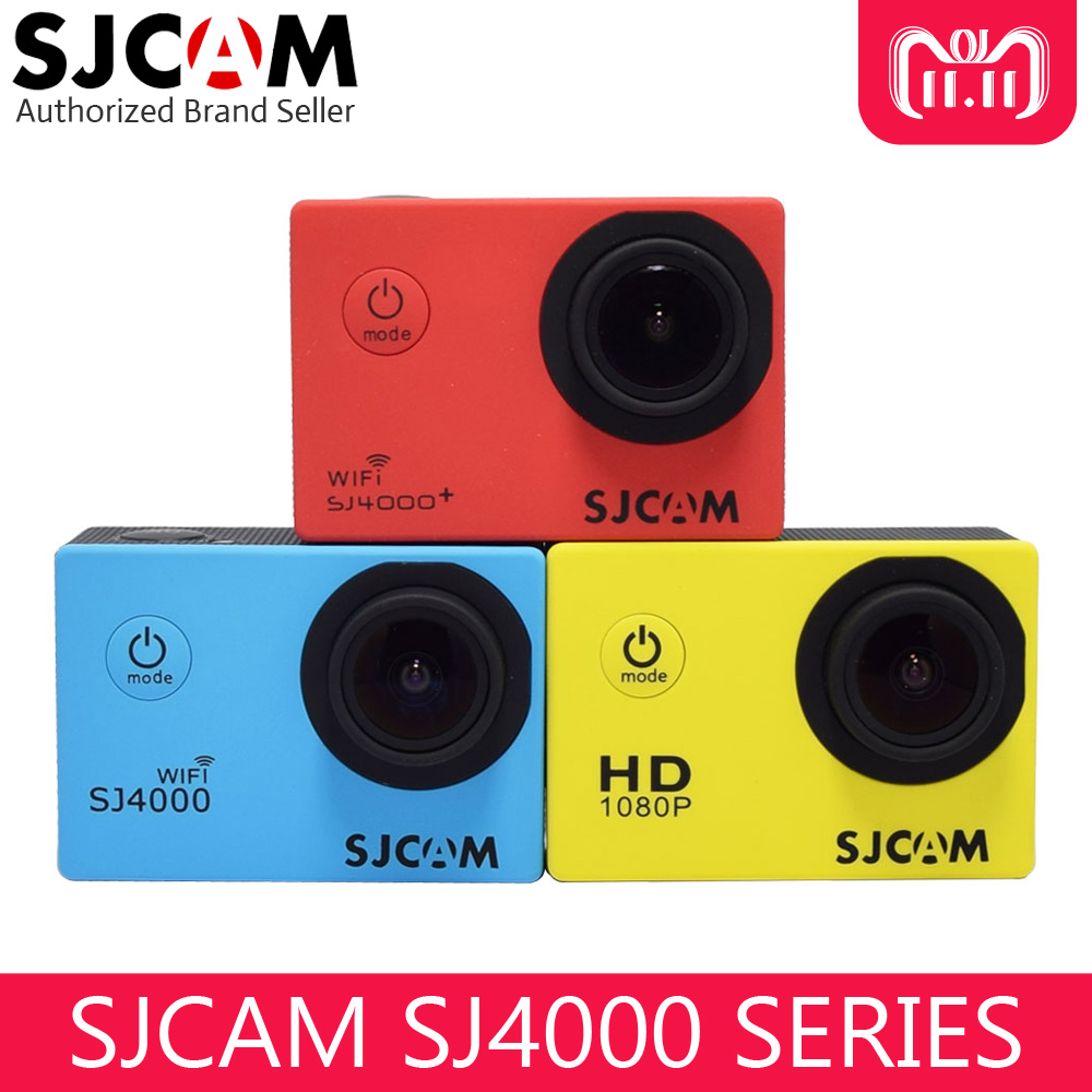 цена на Original SJCAM SJ4000 Series Action Video Camera 1080P Full HD SJ4000 Wifi / SJ 4000 2.0 LCD Waterproof Mini Outdoor Sport DV