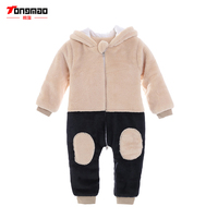 Newborn Baby Boy Rompers Autumn And Winter Kids Clothes Long Sleeve One Pieces Baby Jumpsuits Brand