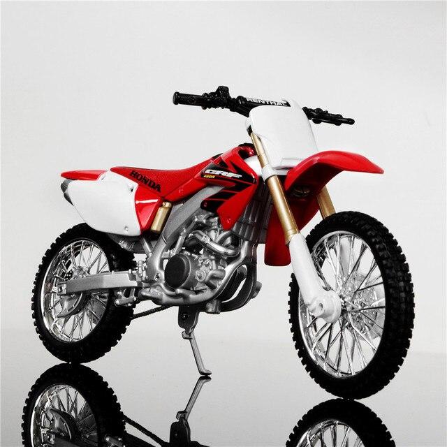 Maisto 1 12 Brand Kids Mini Motorcycle Honda Crf450r Diecast Model