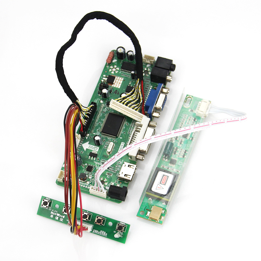 LCD/LED Controller Driver Board M.NT68676 For B170PW02  (HDMI+VGA+DVI+Audio) 1440*900