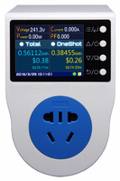 New AU 10A Plug / Power Recorder/ Energy Meter/ Can Measure/Record/ Alarm/ Timing/ 0.1~4000w