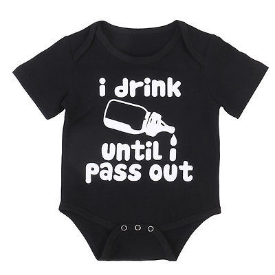 I Drink Until I Pass Out Romper