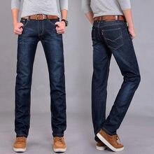 690c40c608 2019 de los hombres jeans de tubo recto cuatro temporadas pantalones de los  hombres jóvenes casuales de los hombres pantalones l.