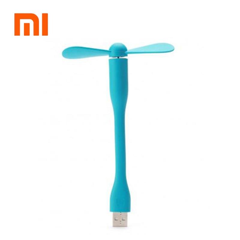 D'origine xiaomi mijia ventilador USB Ventilateur Flexible portable amovible USB Mini Ventilateur Pour tous Alimentation USB Sortie USB mini ventilateur