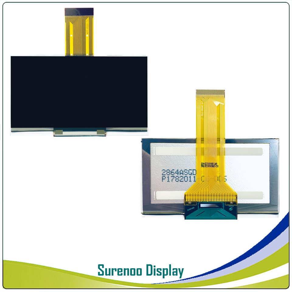 """Image 5 - Real OLED Display, 2.7"""" 128*64 12864 Graphic LCD Module Display Screen LCM Screen SSD1325 Controller Support Parallel SPILCD Modules   -"""