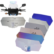 Airflow Adjustable Windscreen Wind Deflector Universal Motorcycle Windshield for Kawasaki Suzuki Honda