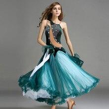 big swing green velvet standard ballroom dance dresses purple red sequins ballroom dance competition dresses waltz