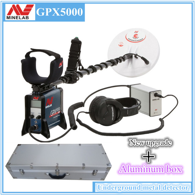 US $800 0 |GPX5000 Underground Metal Detector GPX 5000 Gold Finder Tester  Silver Copper Iron Material Finder Treasure Hunter Digger Probe-in