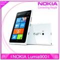"""Abrió el teléfono Nokia Lumia 900 Windows Phone 4.3 """" pantalla de la capacidad 8.0MP cámara Wifi GPS Bluetooth 3 G del teléfono celular"""