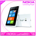 "Unlocked Original phone Nokia Lumia 900 Windows Phone 4.3"" Capacity Screen 8.0MP Camera Wifi GPS Bluetooth 3G cell phone"