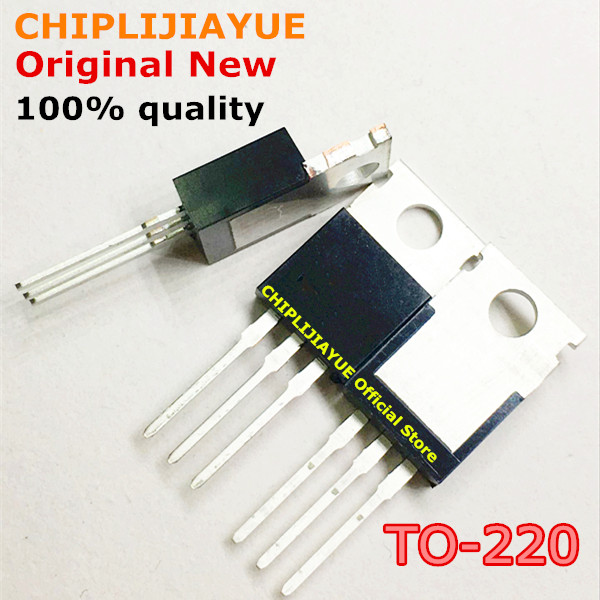 5-10PCS L7805CV TO220 7805 L7805 LM7805 MC7805 TO-220 New And Original IC Chipset