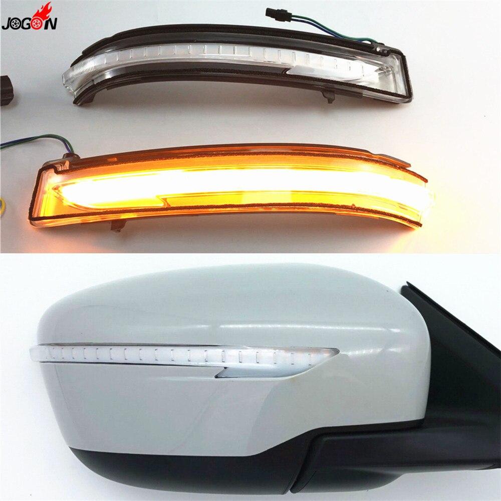Pour Nissan X-trail T32 Qashqai J11 14-18 Murano Z52 LED Dynamique Clignotants Côté Rétroviseur indicateur Clignotant Répéteur Lumière