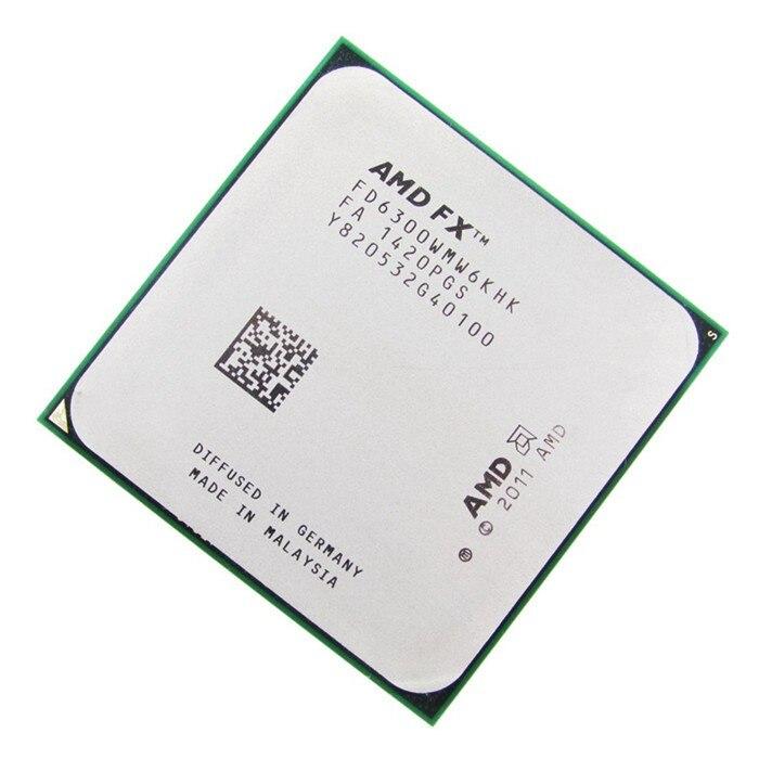 Amd Fx 6300 3 5ghz 4 1ghz L2 6m L3 8mb Cpu Socket Am3 Processor Fx