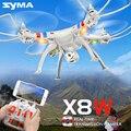 Оригинал Syma X8W 2.4 Г 4CH 6 Оси с Wi-Fi Камера Reat времени Обмена RC Quadcopter RTF Вертолет Drone