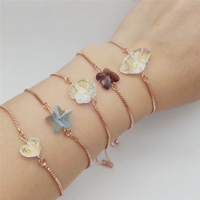 ms betti heart butterfly star clover lucky bracelets for best friends wish bracelet for girls 05