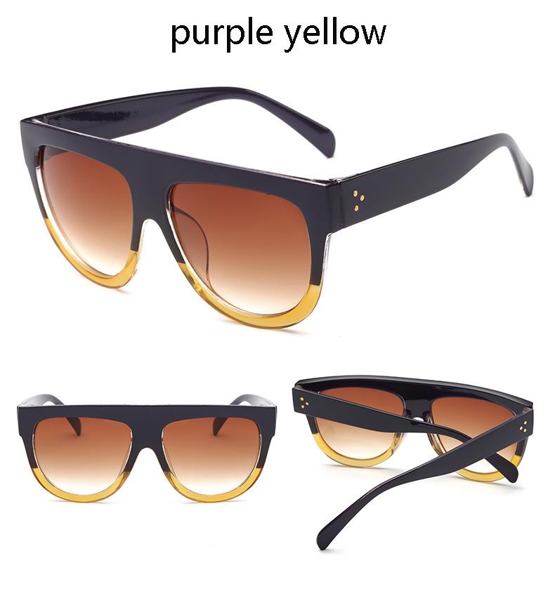 HTB1rjjgPXXXXXXMXVXXq6xXFXXXJ - Flat Top Retro Tortoise Shadow Women's Sunglasses
