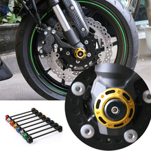 For Kawasaki Z1000 Accessories 2014-2017 Z800 Z 800 2013-2016 Motorcycle Z 1000 Front Axle Fork Crash Sliders Wheel Protector for kawasaki zx 6r ninja 2014 2016 kle650 versys 2015 2016 motorcycle front axle fork wheel protector crash sliders cap pad