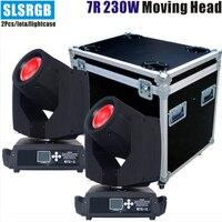 2pcs/lot&flightcase Super pro price r7 230 sky 230w sharpy 7r beam moving head light/sharpy beam r7 230 sky 230w sharpy 7r beam