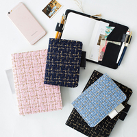 2018 Japanese Kawaii Daily Planner Organizer Agenda Basic Grid Bullet Journal Schedule Refill Notebook Cover For