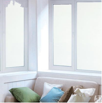 Gel Free Frosted Glass Film Translucent Opaque Windows