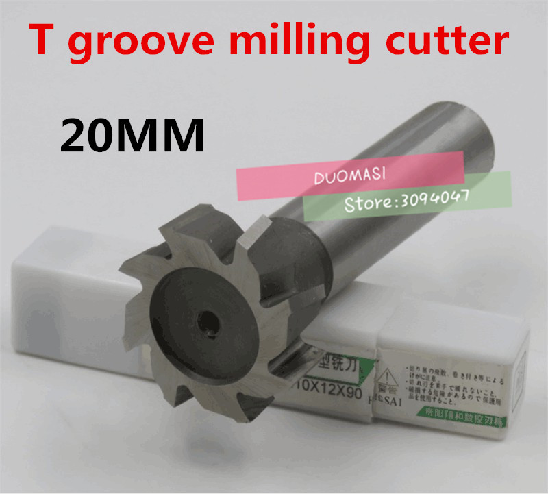 Free Shipping 1PCS T20*3*4*5*6*8*10 High Speed Steel Straight Shank T Slot Milling Cutters,T Groove Mills CutterFree Shipping 1PCS T20*3*4*5*6*8*10 High Speed Steel Straight Shank T Slot Milling Cutters,T Groove Mills Cutter
