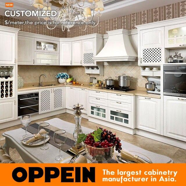 Custom Wholesle OP15 051 Tablero MDF Muebles de Cocina Y Armarios de ...