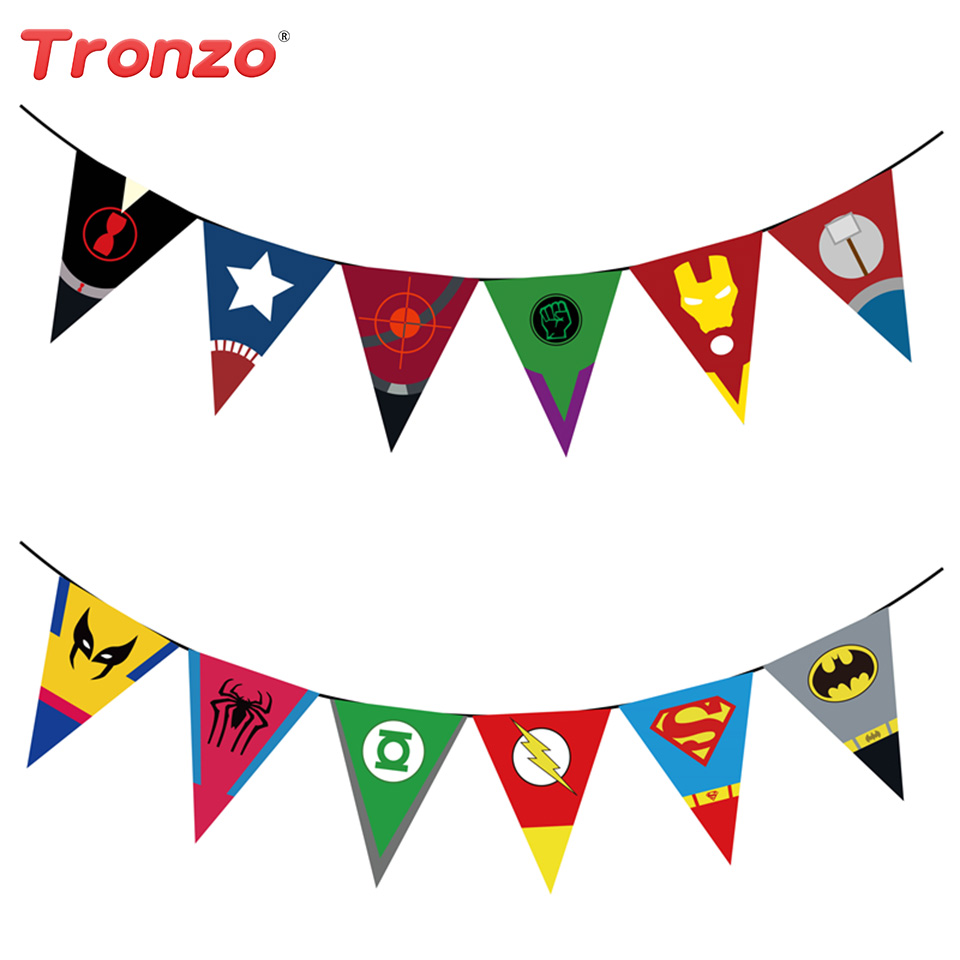 Tronzo 2,2 M Happy Birthday Party Flags Decorazioni per feste di - Per vacanze e feste