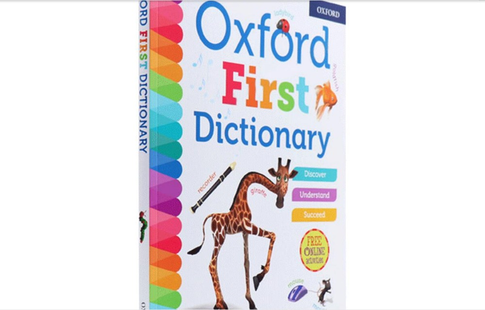 kids Dictionary Children s English Learning Reference Books for Primary School Students Oxford First Dictionary 1pc